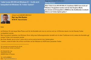 Beispielantwort fragprofis - Windows 10