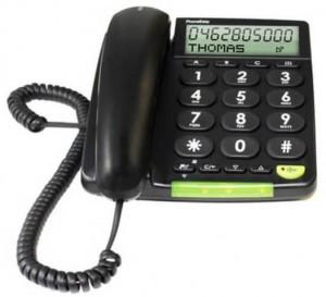 Das Doro PhoneEasy 312cs ist ein Festnetztelefon, welches durch die großen Tasten und das übersichtliche Display besonders für Senioren geeignet ist.