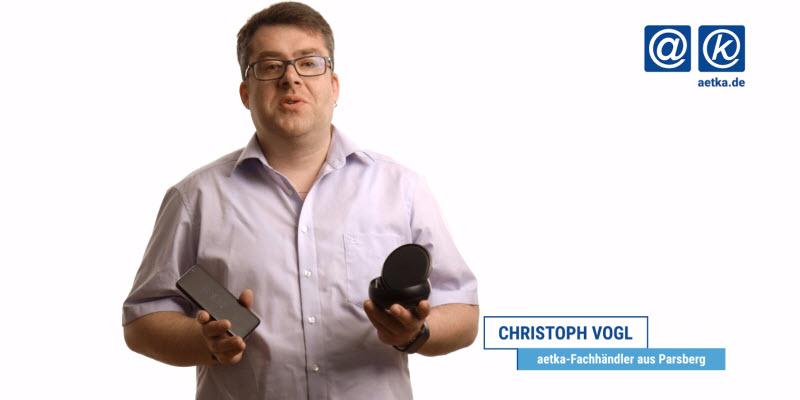 Christoph Vogl von CT Krotter mit dem Galaxy S8