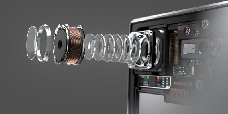 Motion Eye Kamera des Sony Xperia XZ Premium