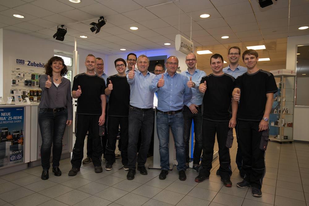 Das Team der Dombrowsky Kommunikationssysteme GmbH