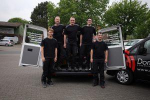 Serviceteam der Dombrowsky Kommunikationssysteme GmbH