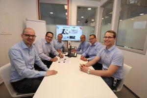 Team der Dombrowsky Kommunikationssysteme GmbH