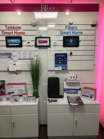 Smart Home Vorführwand DWScom Heizungssteuerung