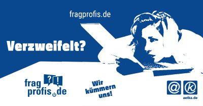 Verzweifeln Sie an der Technik? Fragen Sie einfach Profis unter fragprofis.de!