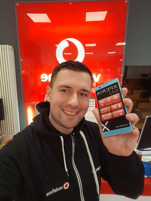 Sony Xperia XA2 Verfügbar im Vodafone Fachhandel Schönhauser Allee