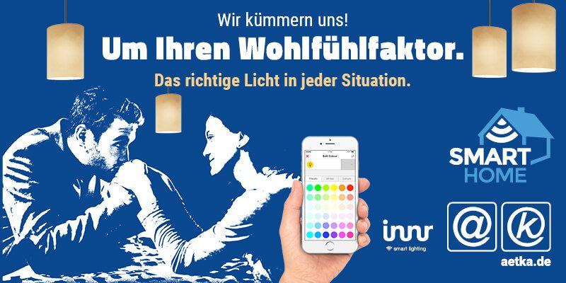 Innr Lichtsteuerung Smart Home aetka Blog