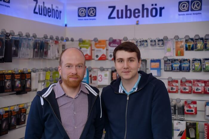 Steffen Piech und Dominik Degen Smart Home Sicherheit aetka Blog