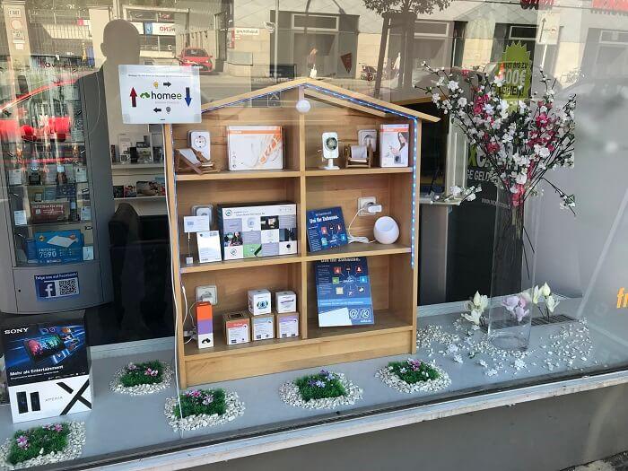 Wir beraten Sie gern bei uns im Shop zum Thema Smart Home Sicherheit.