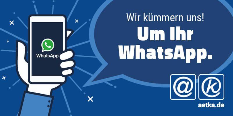 WhatsApp ab 16