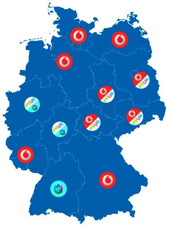 Kabel Internet Anbieter in Deutschland