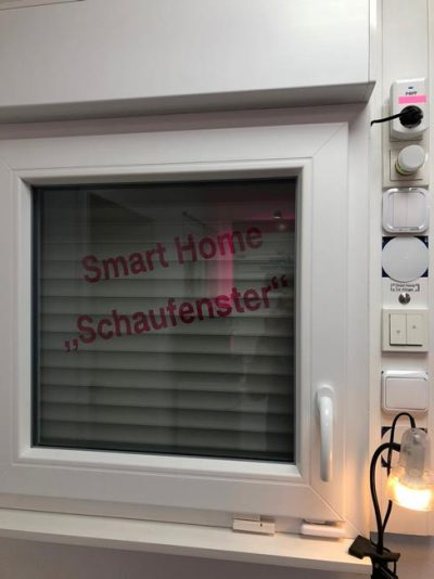 Smart Home Schaufenster DWScom
