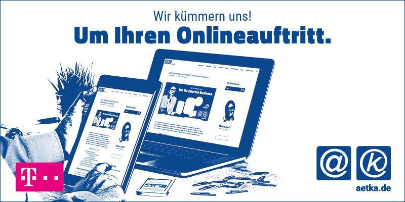 Telekom Homepage Pakete im aetka Blog