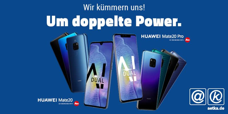 Huawei Mate 20 Pro aetka Blogbeitrag
