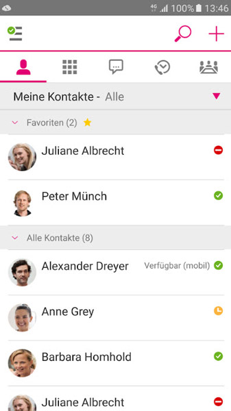 DeutschlandLAN Cloud PBX App