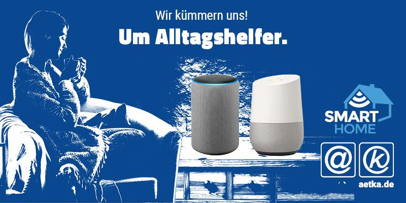 Sprachassistenten Smart Home aetka Blog