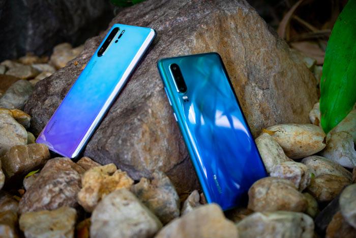 Huawei P30 und P30 Pro Rückseite