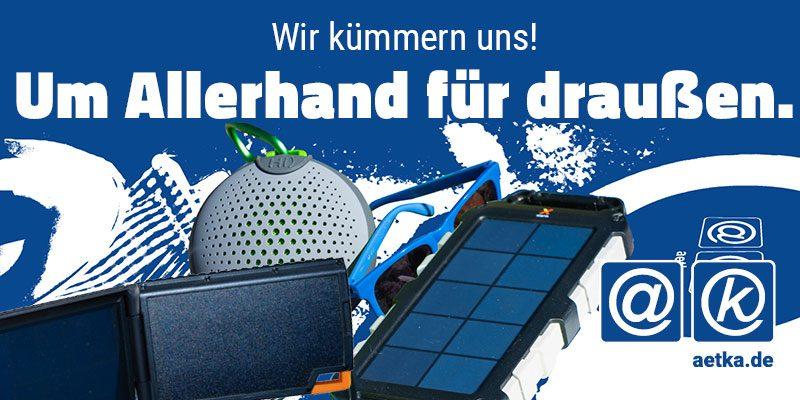 Outdoor Zubehör Solarladegeräte