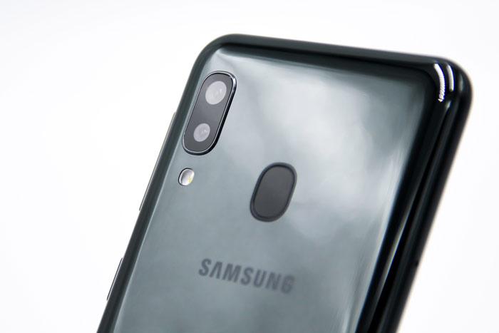 Galaxy A20 Dualkamera