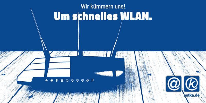 Wi-Fi 6 schnelles WLAN