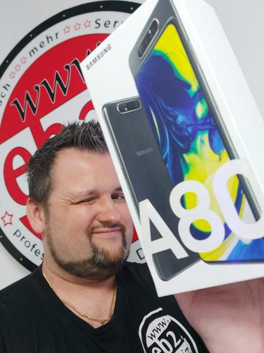 Gatnar mit Galaxy A80