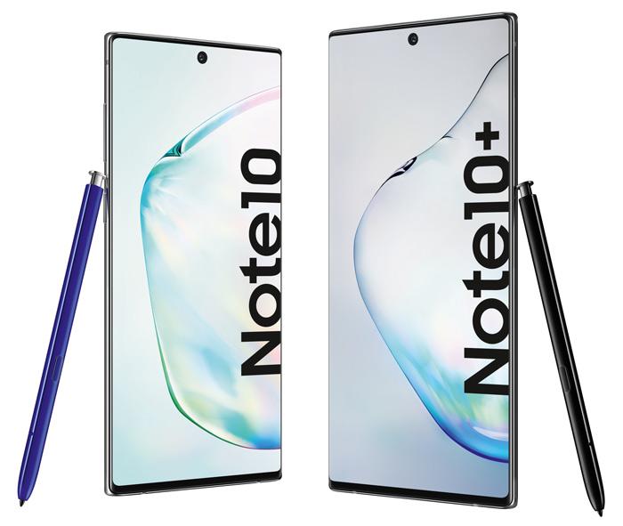 Das Note 10 und das Note 10+ im Größenvergleich