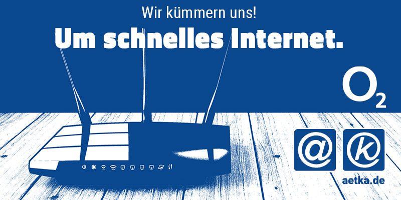 o2 DSL schnelles Internet