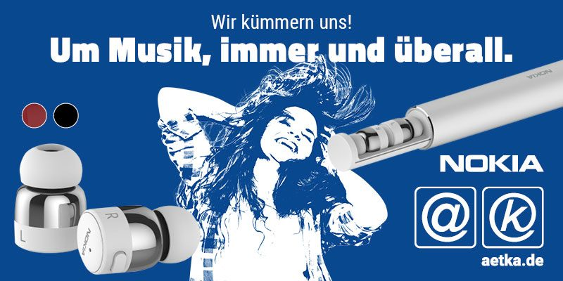 Nokia True Wireless Earbuds aetka Blog