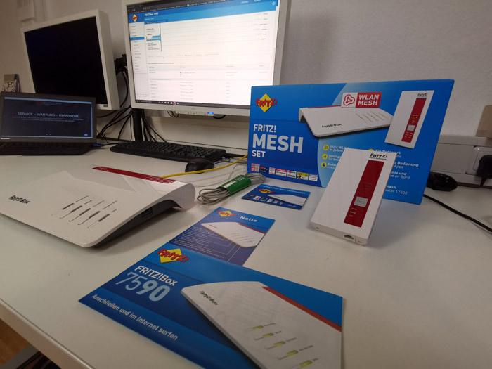 AVM Mesh Set bei Mobile Shop Weyhe
