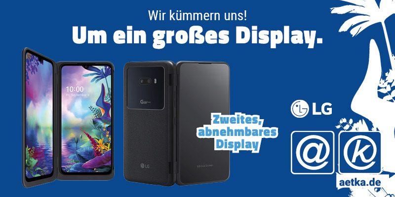 LG G8X aetka Blog