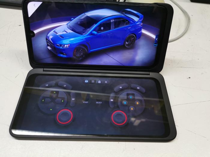 Spielen auf dem LG G8X