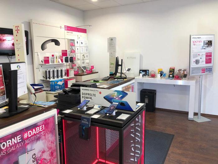 Telekom Shop Waldkraiburg innen