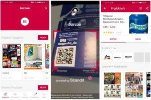 Screenshots barcoo QR Code Scanner App