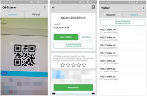 Screenshots qr scanner app QR-Code Scanner