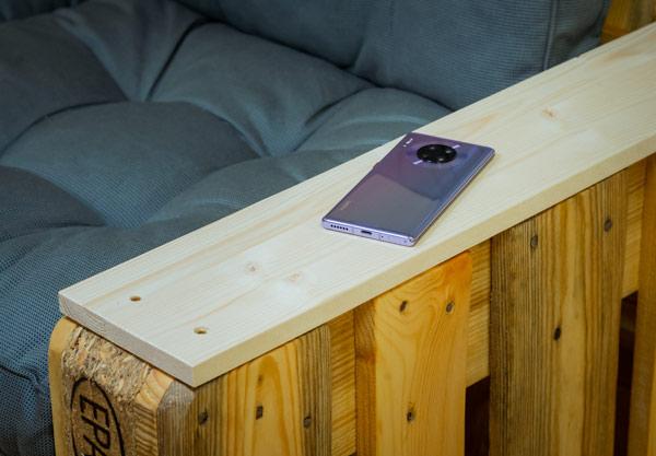 Die Rückseite des Huawei Mate 30 Pro