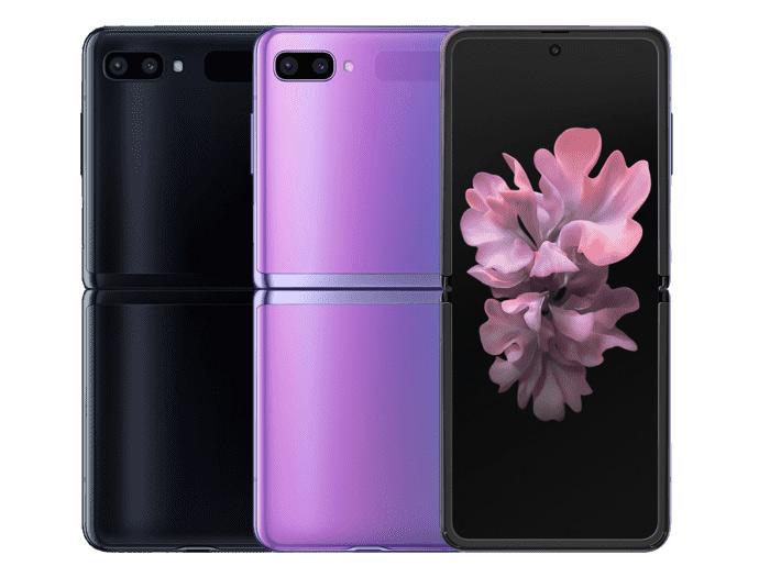 Farbvarianten des Galaxy Z Flip