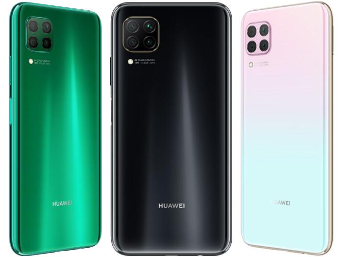 Farbvarianten Huawei P40 lite