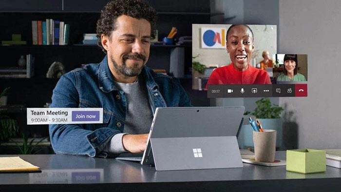 Screenshot Microsoft Teams