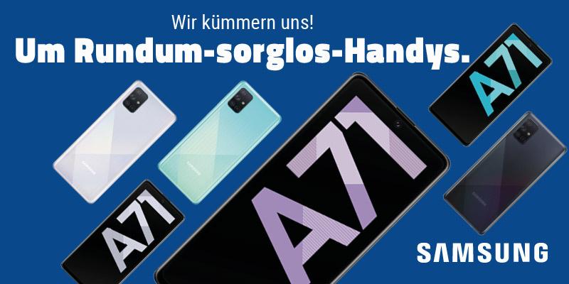 Samsung Galaxy A71 im aetka Blog