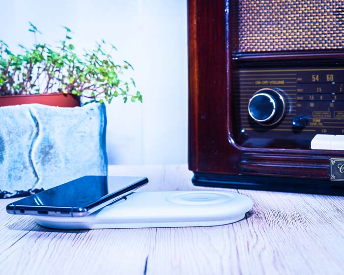 Samsung DuoPad in weiß