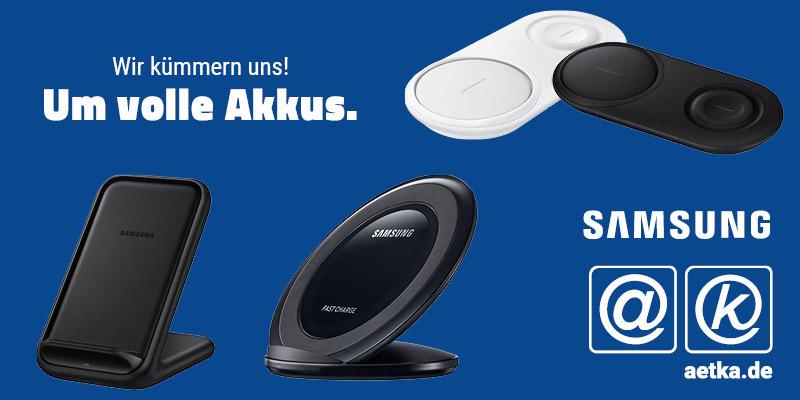 Induktives Laden von Smartphones - Samsung Zubehör