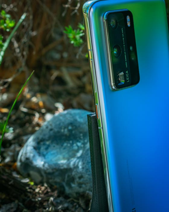 Kamera des P40 Pro im Fokus