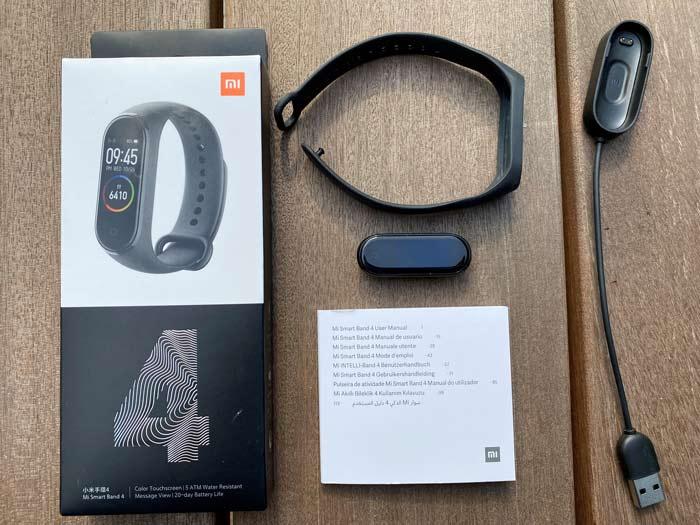 Xiaomi Band 4 Lieferumfang