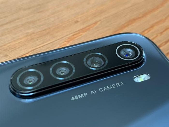 Kamera des Redmi Note 8T