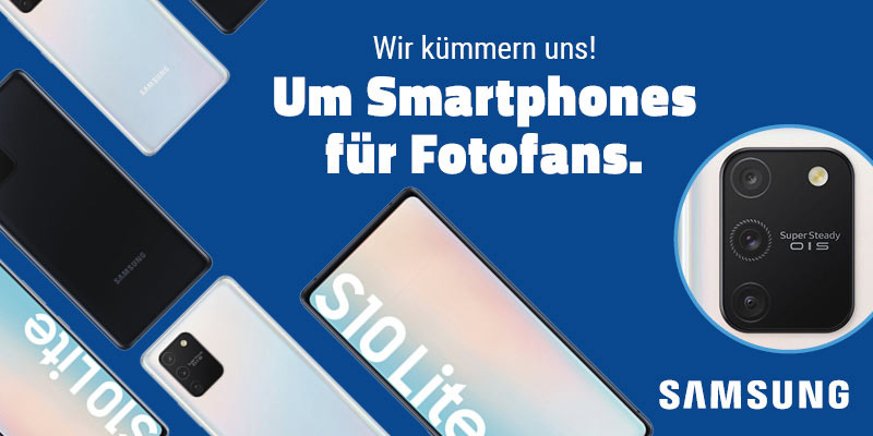 Samsung Galaxy S10 Lite im aetka Blog