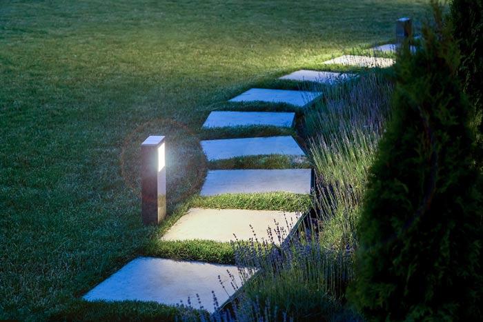 Smart Garden Beleuchtung im Garten