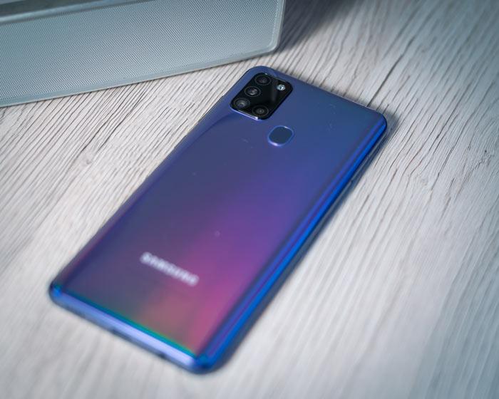 Samsung A21s Rückseite