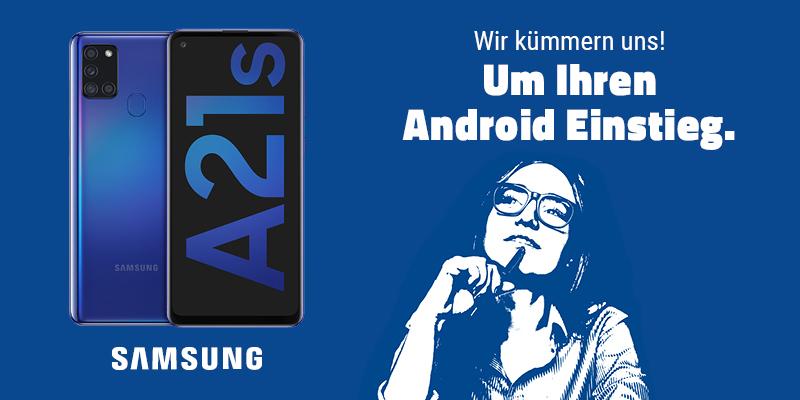 Samsung Galaxy A21s im aetka Blog