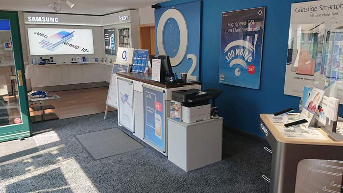 Media Store Dresden von innen