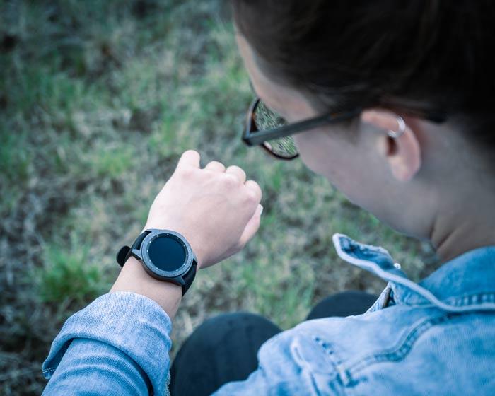 Samsung Galaxy Watch Anzeige